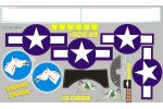 FMS 1400mm B-25 Bomber Sticker