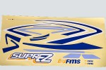 FMS SuperEZ 1220mm Stickers