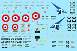 Freewing Mirage 2000 80mm Water Sticker