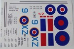 Freewing Mosquito 1400mm Water Sticker