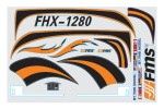 FMS Easy Trainer-2 1280mm Decal Sheet