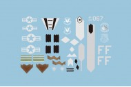 Freewing F-22 Decal Sheet
