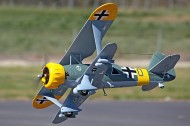 FMS HS 123 Warbird and Military RC Plane 1030mm ARF