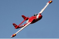 Freewing 90mm EDF de Havilland DH 112 Venom Jet Version 2 Swiss Red Scheme PNP