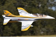 Freewing Avanti S Deluxe Edition Yellow 80mm Ultimate Sport Jet EDF PNP
