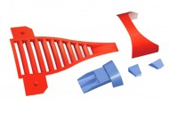 Freewing 80mm EDF L-39 Albatros Plastic Part E