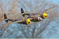"FlightLineRC P-38L Lightning ""Allied Green"" 1600 mm PNP"