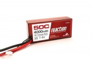 Dynamite Reaction LiPo Battery 4000mAh 2S 50C
