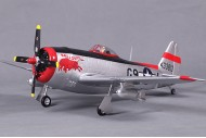 FMS Mini P47 Balls Out Warbird RC Plane 750mm RTF