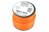 Du-Bro Silicone Fuel Tubing, Orange, 1m