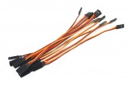 10pcs 26# / 26AWG Servo Extension Flat Cable 200mm JR Color