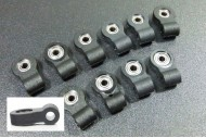 10pcs Arm Clevis with Bearing A# D3×20mm for RC Airplane