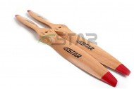 Six Star Standard Wooden Beech Propeller 16x8