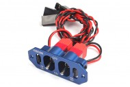 6 Starhobby Heavy Duty Metal Dual Power Switch - Blue