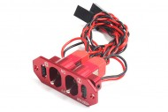 6 Starhobby Heavy Duty Metal Dual Power Switch / Fuel Dot - Red