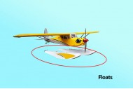 Seagull Funky Cub Float Set (Yellow)