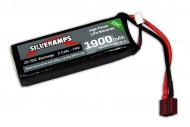 SilverAmps LiPo Battery 1900mAh 2S 25C