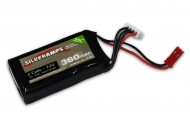 SilverAmps LiPo Battery 360mAh 2S 35C