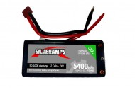 SilverAmps LiPo Battery 5400mAh 2S 50C Hard Pack