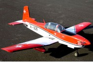 VQ Models Pilatus PC-7 Swiss Version 46 Size EP/GP