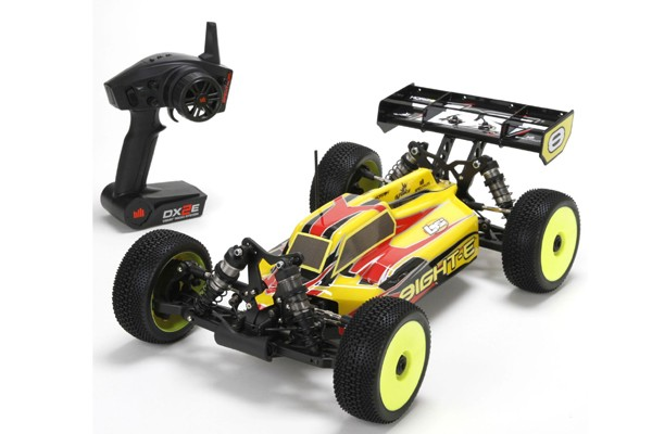 1/8 8IGHT-E with AVC 4WD Buggy RTR