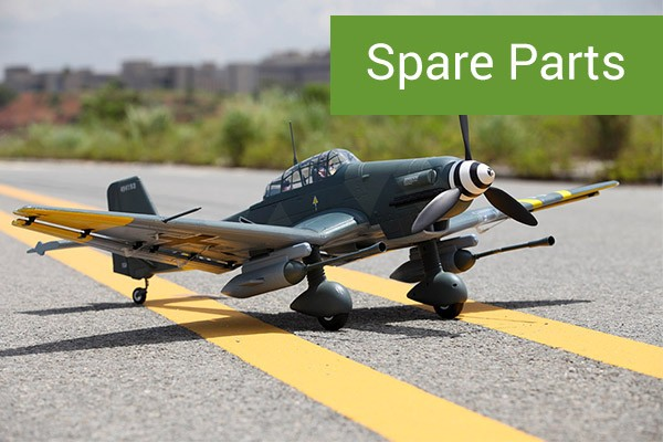 FMS Stuka Warbird and Military RC Plane 1400mm PNP
