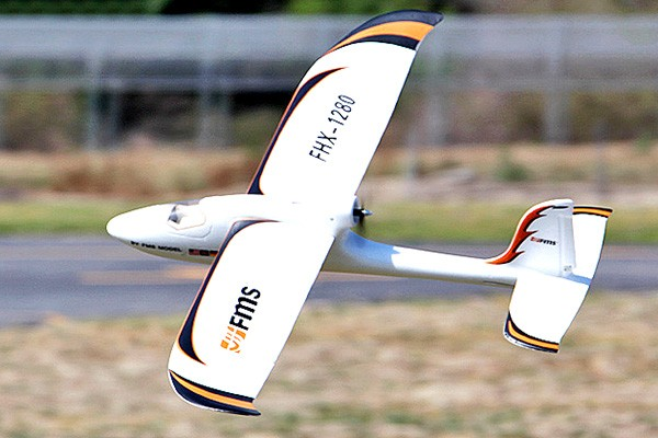 Buy Fms Easy Trainer 2 Glider Rc Plane 1280mm Rtf From