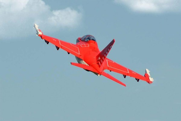 Buy Freewing Yak-130 Red Super Scale 90mm EDF Jet PNP from