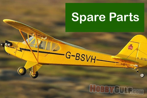 FMS J-3 Piper Cub Trainer RC Plane 1100mm RTF