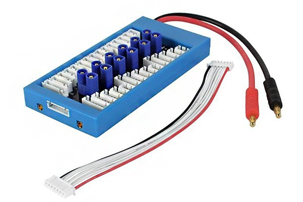 Paraboard Multiple Battery Charging Board with EC3 Plug