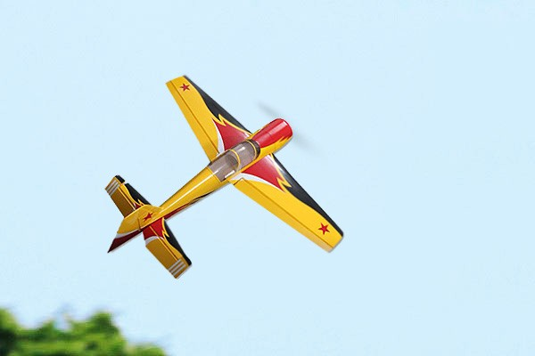 27% Yak54 30cc RC 3D Gas Model 1854mm ARF