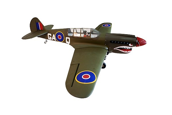 Seagull Curtiss P-40N Warhawk 33-38cc 2032mm (Shark head) ARF
