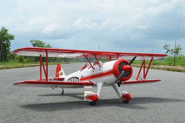 Seagull Red Baron Pizza Squadron's Stearman 1816mm ARF