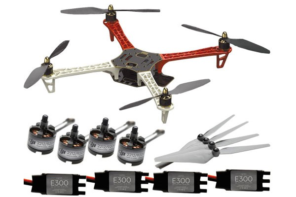 Buy DJI Flame Wheel F450 ARF Multicopter Kit with Motors