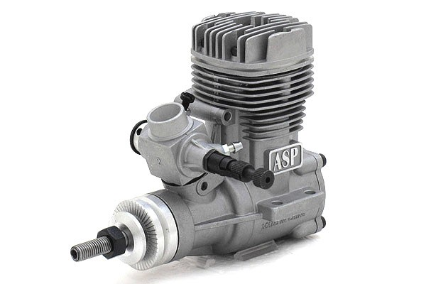 ASP S52A Two Stroke Nitro / Glow Engine