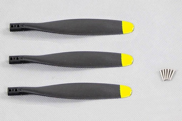 FlightLine RC 3-Blade Reverse Propeller 12x7