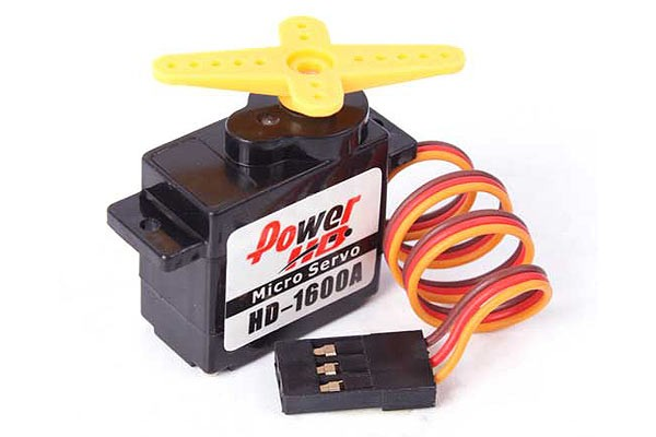 Power HD Analog Micro Mini Servo 1.3kg/6g HD-1600A