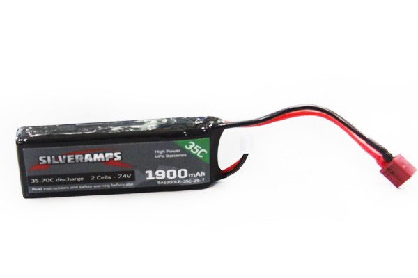 SilverAmps LiPo Battery 1900mAh 2S 35C