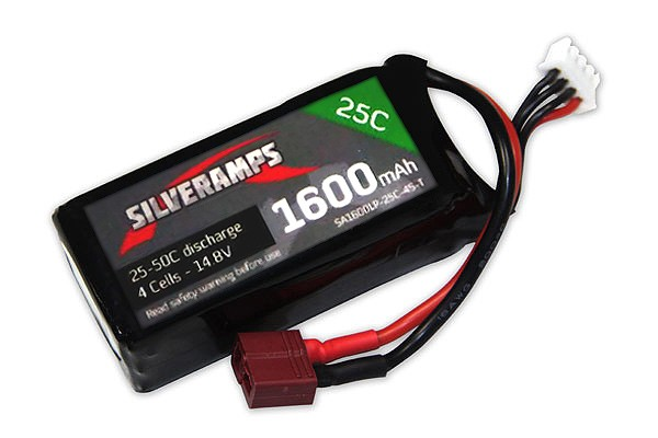SilverAmps LiPo Battery 1600mAh 4S 25C