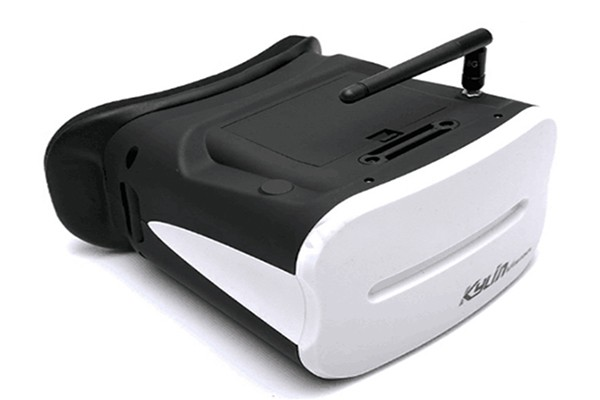 Kylin Vision FPV Goggle 64CH 5.8Ghz 5 Inch Headset Battery