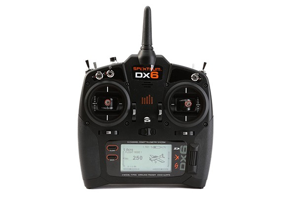 Spektrum DX6 DSMX (NEW VERSION) 6-Channel Transmitter Only, Mode 2