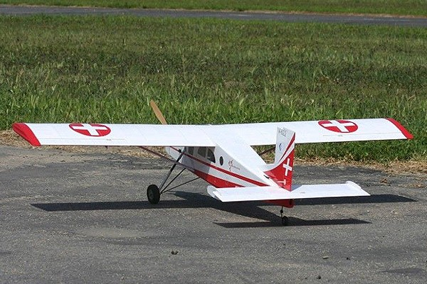 Buy VQ Models Pilatus PC-6 46 Size EP/GP Swiss Version With