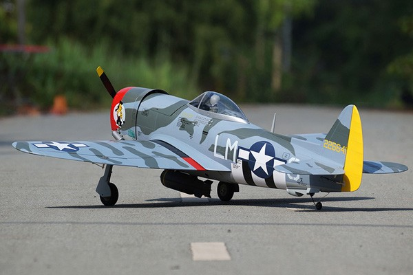 VQ Models P-47 D Thunderbolt Camo Version 46 Size EP/GP